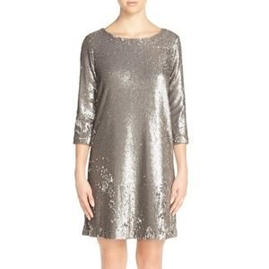 NWT BB Dakota Miles Sequin A-Line Mini Dress